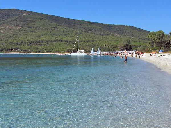 Mugoni beach in Alghero Sardinia
