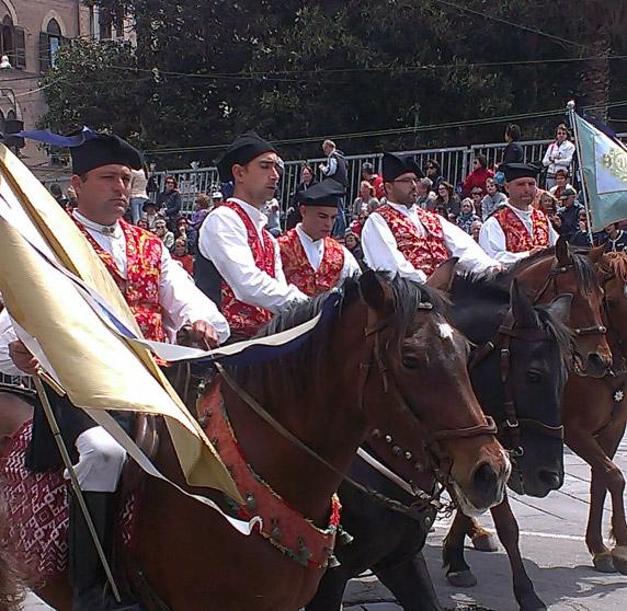 horsemen saint efisio