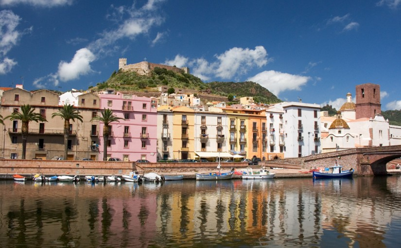 Bosa – a beautiful small town in Sardinia