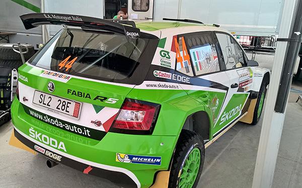 rally alghero 2016 shakedown