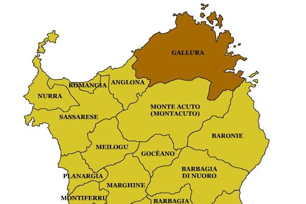 gallura map