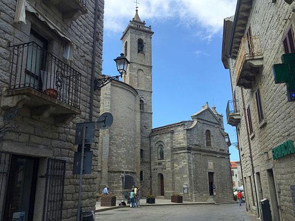 Saint Peter Cathedral in tempio pausania