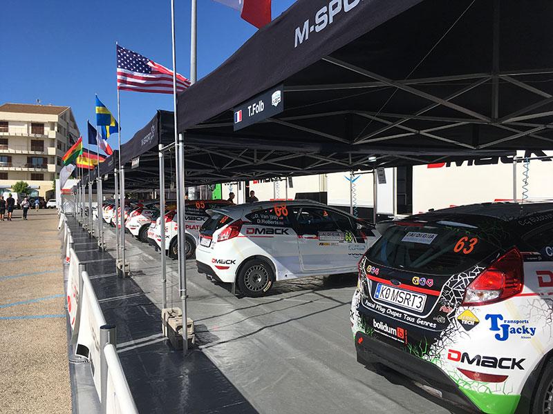 rally alghero 2017 service park
