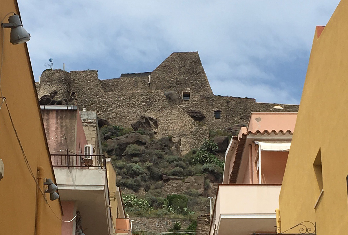 castelsardo - the castle