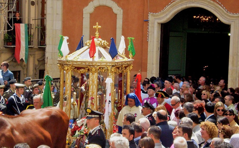 The festival of Sant'Efisio in Cagliari