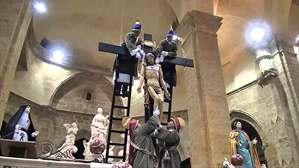 holy week in alghero