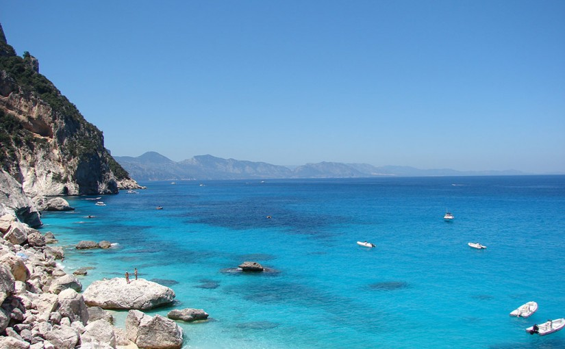Costa Smeralda beaches in Sardinia