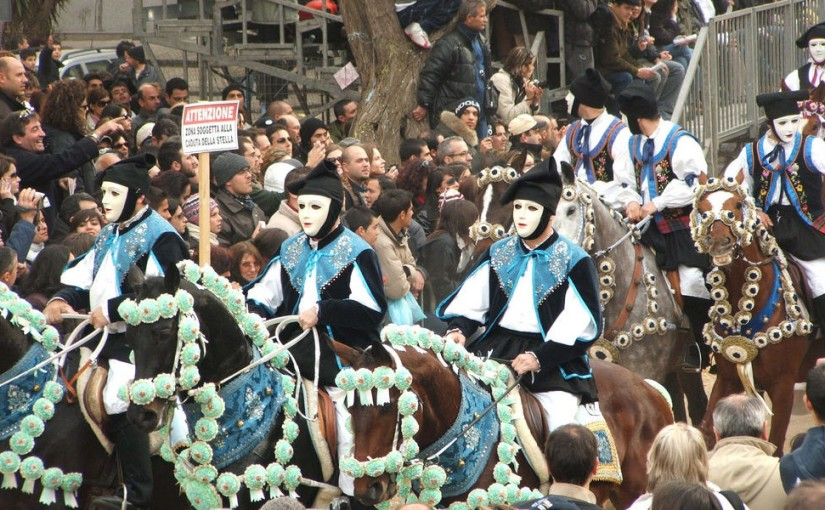 The spectacular Sartiglia in Oristano