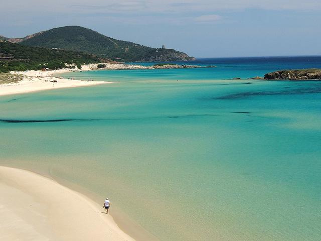 tuerredda beach