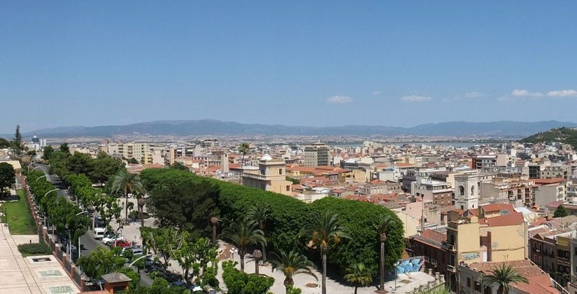 A tourist itinerary in Cagliari and its surroundings
