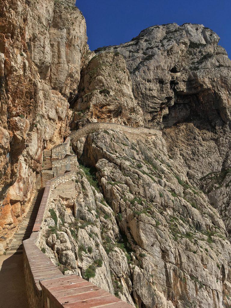 escala cabirol in Alghero