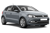 Volkswagen polo for rent in sardinia with zero excess